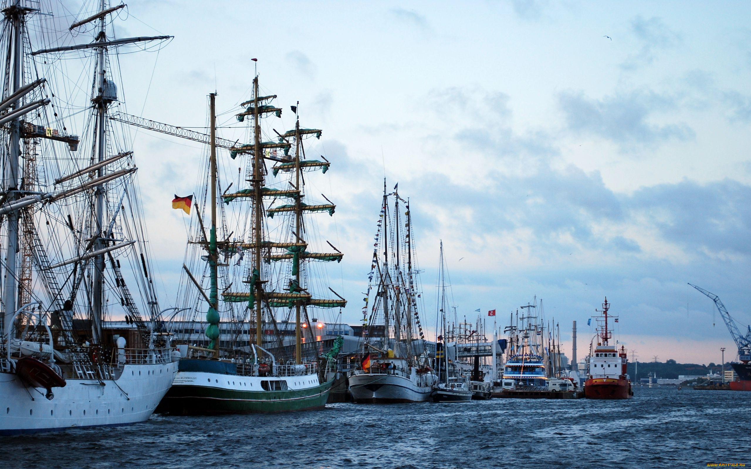 фото морской порт парусники получится получить